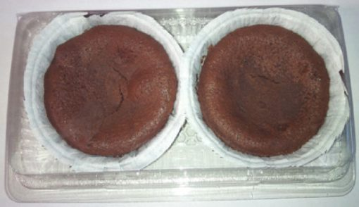 Moelleux chocolade 2 stuks